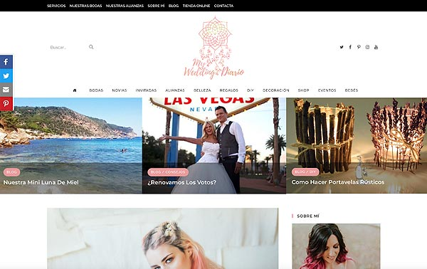 Blog de bodas myweddingdiario portada