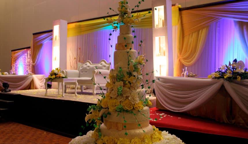 tarta de boda de lujo
