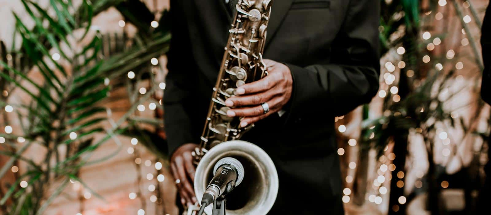 Bossa nova saxofón instrumentista