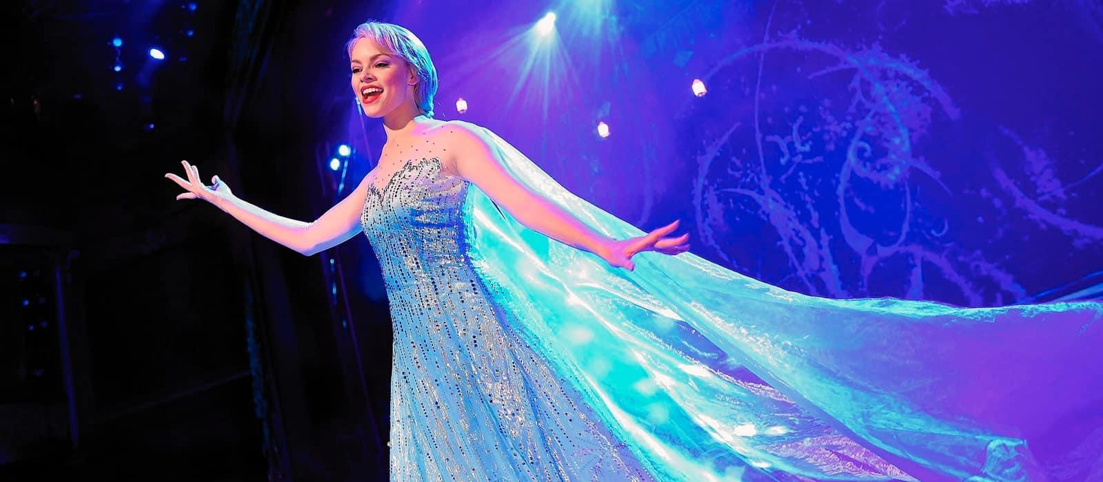 Frozen cantada por actriz