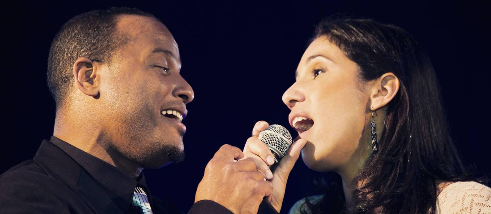 cantantes en duo para eventos