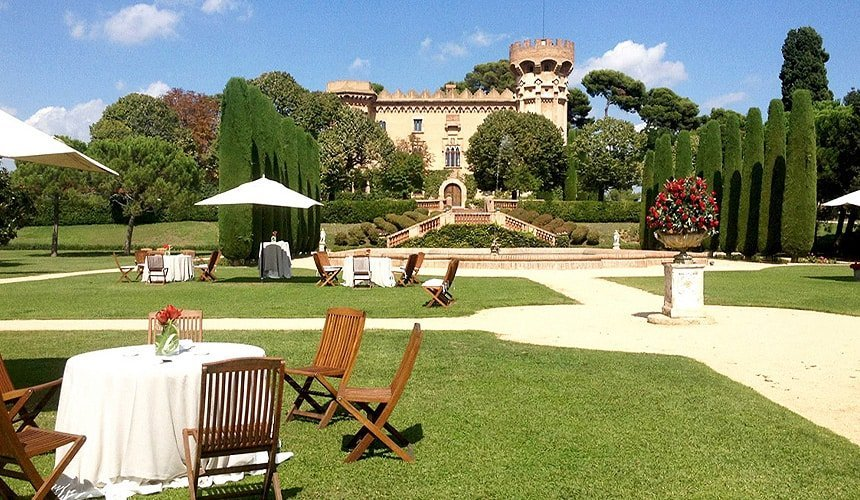 Castell de Sant Marcal Barcelona wedding venues