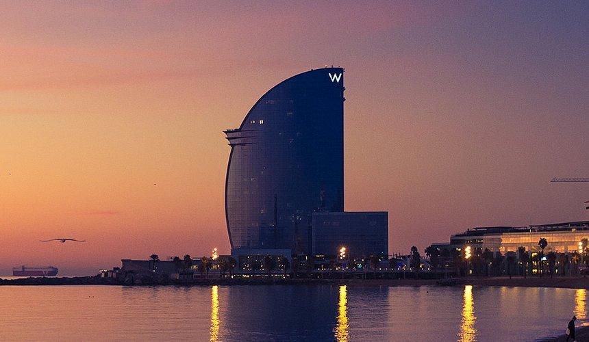 Hotel W Barcelona sea view