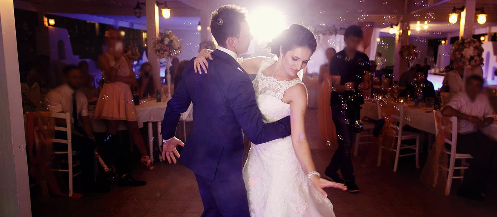 Bachata dancing first dance wedding