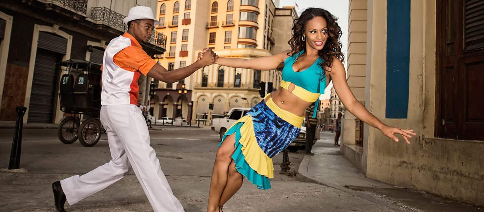 dancing salsa in cuba