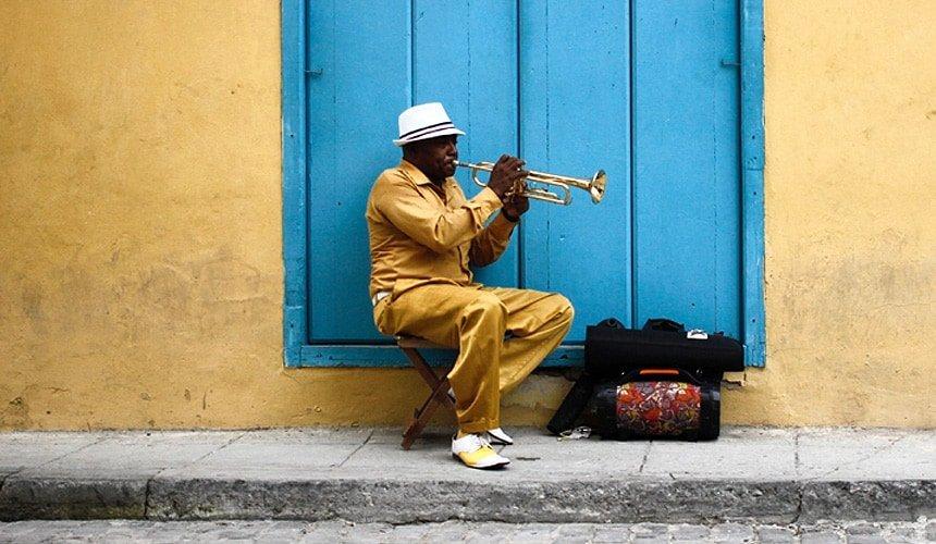 música cubana en las calles