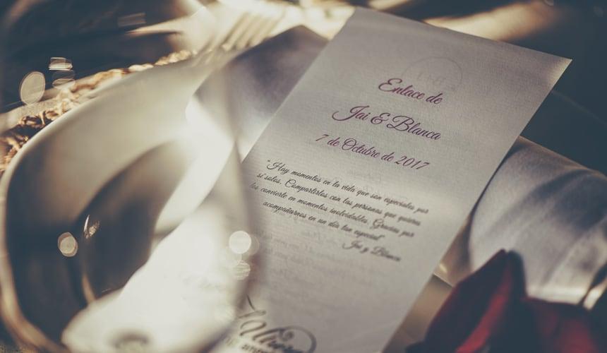 wedding bilingual invitation