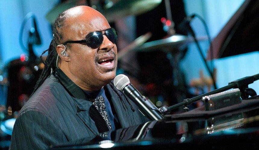 Cantante Stevie Wonder