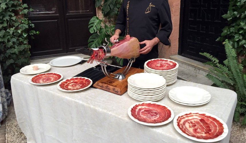 Jamon Iberico a delicious food from spain