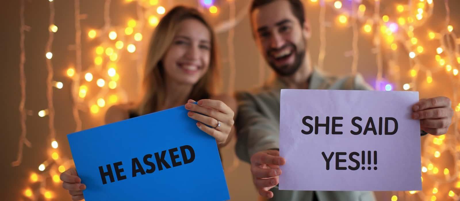 ella dijo SI