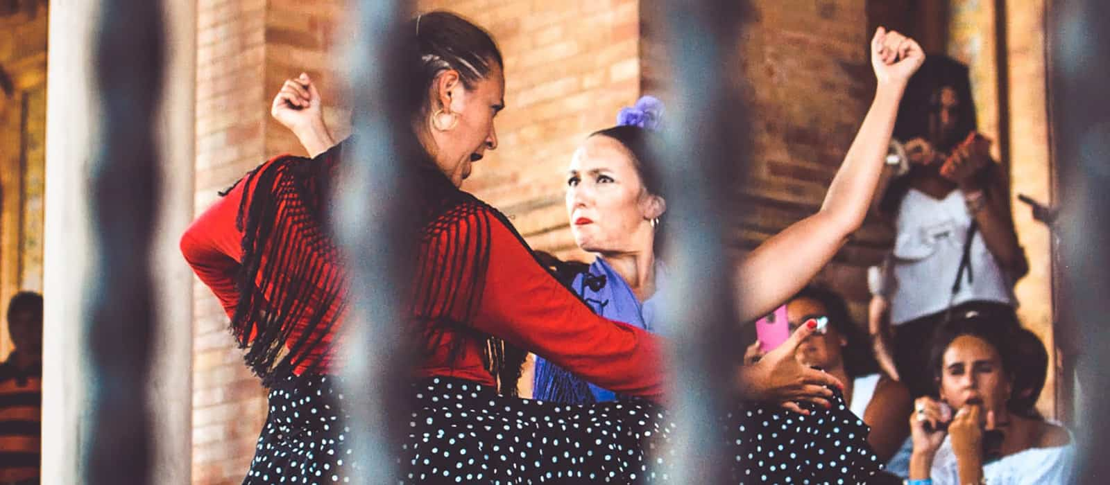 Traditional Spain dance
