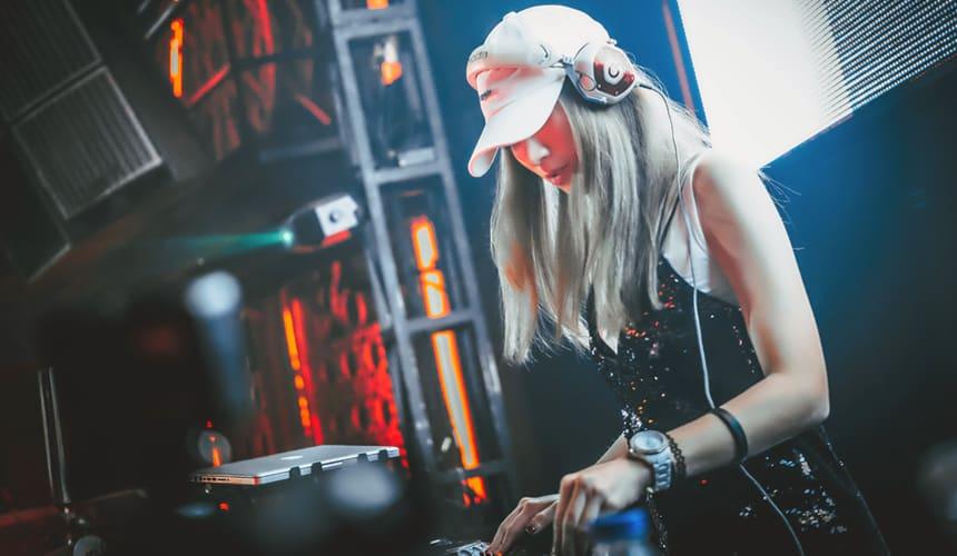 Female Wedding DJ