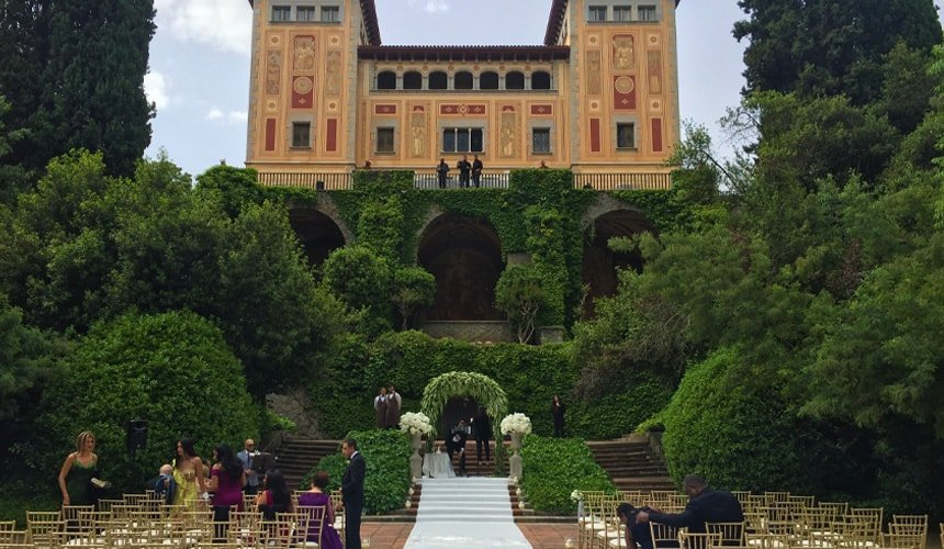 wedding venue in Barcelona
