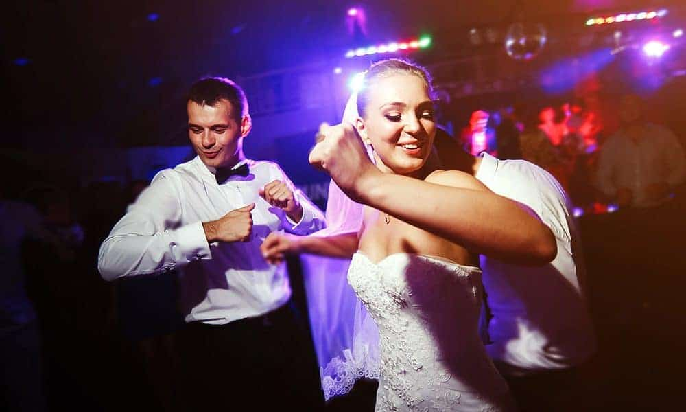 Intercultural spanish wedding