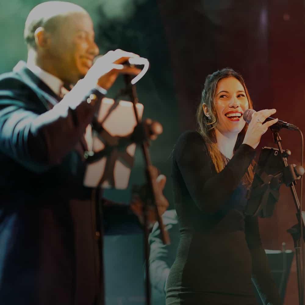 Orquesta para bodas Calle Habana cantantes