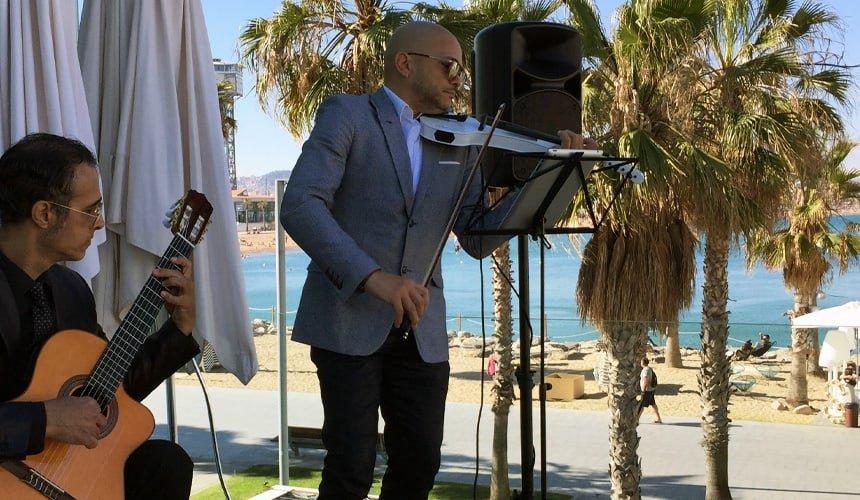 Duo musical para coctel